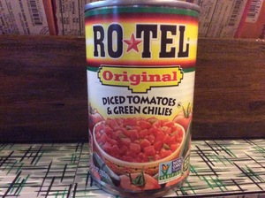 Salsa—Rotel Original Diced Tomatoes & Green Chiles